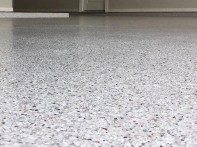 Garage Dusting Floor Coating
